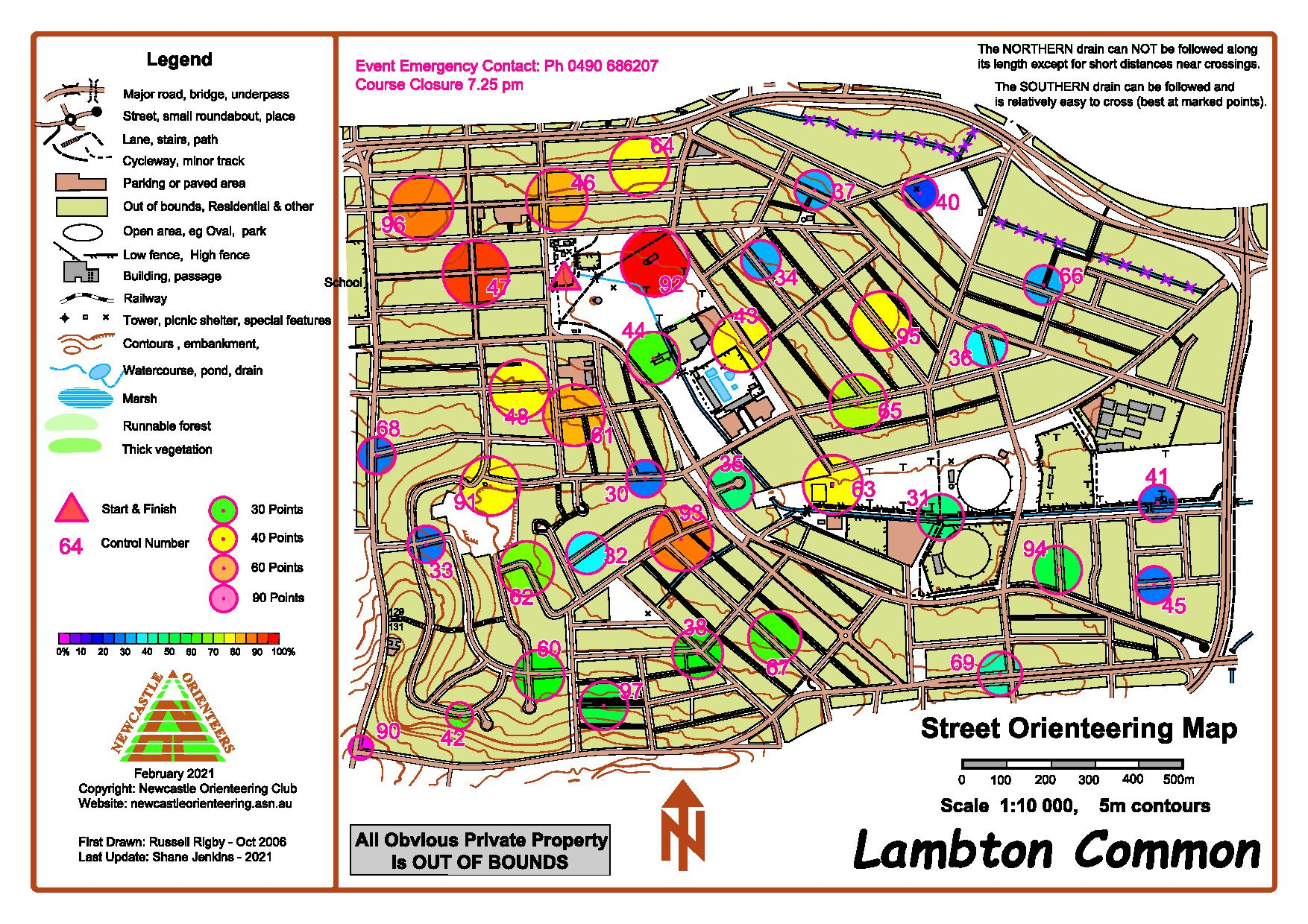 Lambton 2020 21 Heat Map