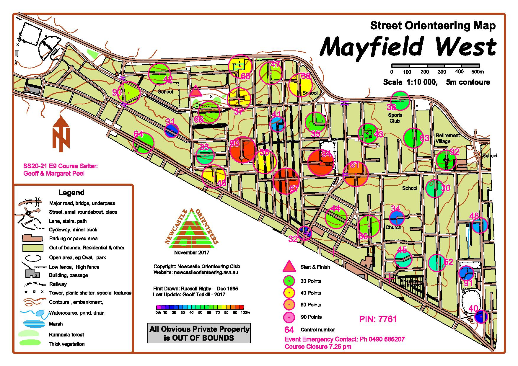 Mayfield 2020 21 Heat Map